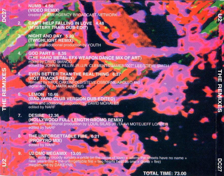 U2 - Pineapple Remixes For Propaganda